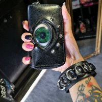 【MALICIOUS.X】EYE KEY CASE / GREEN