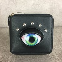 【MALICIOUS.X】EYE WALLET SHORT / GREEN