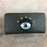 【MALICIOUS.X】EYE WALLET LONG / BLUE