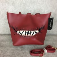 【MALICIOUS.X】CREATURE(RED) TOTE&SHOULDER BAG