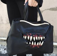 【MALICIOUS.X】CREATURE(BLACK) HAND&SHOULDER BAG