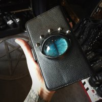 【MALICIOUS.X】CAT EYE SMARTPHONE CASE/BLUE