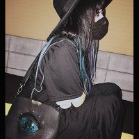 【MALICIOUS.X】REPTILES EYE SHOULDER BAG