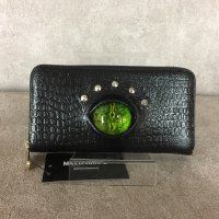 【MALICIOUS.X】REPTILES EYE WALLET/GREEN