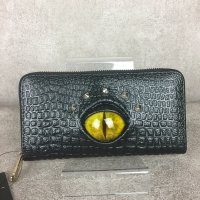 【MALICIOUS.X】REPTILES EYE WALLET/YELLOW