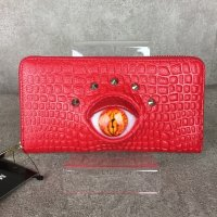 【MALICIOUS.X】REPTILES EYE WALLET(RED)/ORANGE