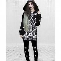 【ROGUE+WOLF】RCF-04:COVEN OVERSIZED JUMPER(UNISEX)