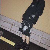 【FAR STAR】ハーフパンツ(FAR★STAR× MEJIBRAY メト)