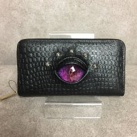 【MALICIOUS.X】REPTILES EYE WALLET/PURPLE