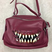 【MALICIOUS.X】CREATURE 2WAY BAG(RED)