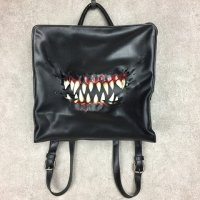 【MALICIOUS.X】CREATURE SQUARE 2WAY BACK PACK