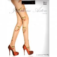 【JONATHAN ASTON】CHERRIES TIGHTS(NUDE)//TR