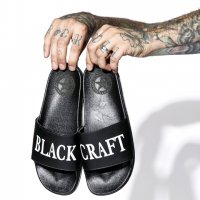 3B1F【BLACK CRAFT】BLACKCRAFT - POOL SLIDES