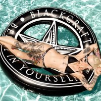 5B1/2【BLACK CRAFT】BELIEVE IN YOURSELF - POOL FLOAT
