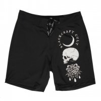 <img class='new_mark_img1' src='//img.shop-pro.jp/img/new/icons20.gif' style='border:none;display:inline;margin:0px;padding:0px;width:auto;' />【BLACK CRAFT】SPIRITS OF THE DEAD - BOARD SHORTS(UNISEX)