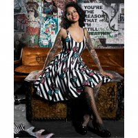 5B1/2【SOURPUSS】X-RAY SWEETS DRESS