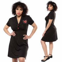 【SOURPUSS】VOODOO HEART ROSIE DRESS
