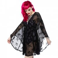 5B1/2【SOURPUSS】BAT CLOUD SWIM COVER UP