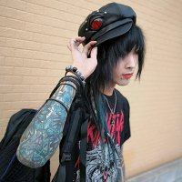 【MALICIOUS.X】EYE CASQUETTE/REPTILES RED