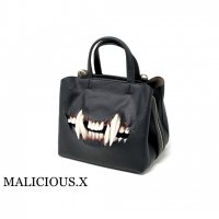【MALICIOUS.X】CAT FANG SHOULDER & HANDBAG / BLACK