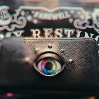 【MALICIOUS.X】EYE WALLET LONG/RAINBOW(SAFFIANO)