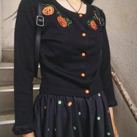 【SOURPUSS】PUMPKIN QUEEN CARDIGAN