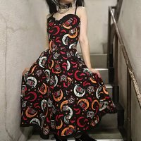 5B1/2【SOURPUSS】OVER THE MOON SWEETHEART DRESS