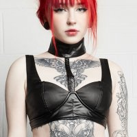 <img class='new_mark_img1' src='https://img.shop-pro.jp/img/new/icons20.gif' style='border:none;display:inline;margin:0px;padding:0px;width:auto;' />【DISTURBIA】DISRUPTION BRALET