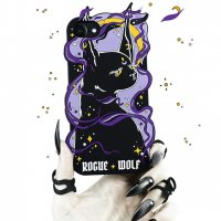 【ROGUE+WOLF】WITCH KITTEN MERLYN PHONE CASE