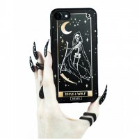 <img class='new_mark_img1' src='//img.shop-pro.jp/img/new/icons20.gif' style='border:none;display:inline;margin:0px;padding:0px;width:auto;' />【ROGUE+WOLF】DEATH TAROT GOLD PHONE CASE
