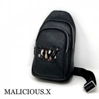 【MALICIOUS.X】CREATURE BODY BAG(本革)