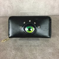 【MALICIOUS.X】EYE WALLET LONG/GREEN