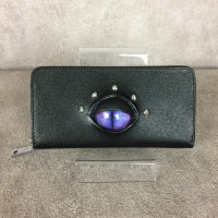 【MALICIOUS.X】WALLET LONG(SAFFIANO)/CAT(VIOLET)