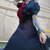 【HELL BUNNY】HLB40025:MADONNA DRESS(XS-XL)