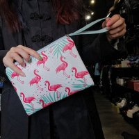 【COLLECTIF】FLAMINGO MAKE UP BAG