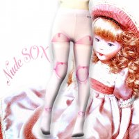 【NUDE SOX】MDT-003 MAD SCIENCE TIGHTS<ピンキードール/PINKIE DOLE>