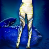 【NUDE SOX】MDT-007 MAD SCIENCE TIGHTS<半魚人/MERMAN>