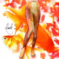 【NUDE SOX】MDT-015 MAD SCIENCE TIGHTS<金魚/GOLDFISH>