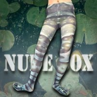 【NUDE SOX】MDT-018 MAD SCIENCE TIGHTS<ミルキーフロッグ/AMAZON MILK FROG>