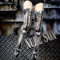 【NUDE SOX】MDN-003 MAD SCIENCE KNEE HIGH SOCKS<機械/MACHINE>