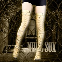 【NUDE SOX】MDN-005 MAD SCIENCE KNEE HIGH SOCKS<拘束/RESTRICTION>