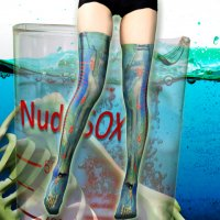 【NUDE SOX】MDN-006 MAD SCIENCE KNEE HIGH SOCKS<メルティ—スライム/MELTY SLIME>