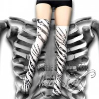【NUDE SOX】MDCN-002 COLLAB WITH GOTHIC&LOLITA BIBLE<骨/BONES>