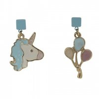 <img class='new_mark_img1' src='//img.shop-pro.jp/img/new/icons3.gif' style='border:none;display:inline;margin:0px;padding:0px;width:auto;' />【COLLECTIF】ピアス-UNICORN EARRINGS