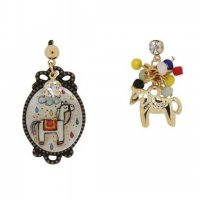 【COLLECTIF】ピアス-LLAMA RAMA EARRINGS