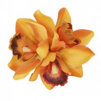 【COLLECTIF】AALIYAH ORCHID HAIR FLOWER-ORANGE