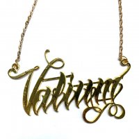 3B1F【IVORY JAR】VALIUM NECKLACE-GOLD