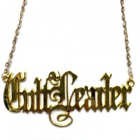 3B1F【IVORY JAR】CULT LEADER NECKLACE-GOLD