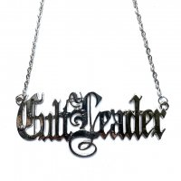 3B1F【IVORY JAR】CULT LEADER NECKLACE-SILVER