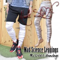 【NUDE SOX】MDL-001  MAD SCIENCE LEGGINGS<包帯/BANDAGE>